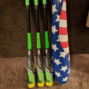 Easton S3 bats! 3 Brand New 31 inch